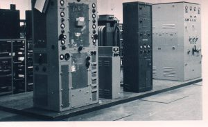 Black and White image of SWB8 Transmitter