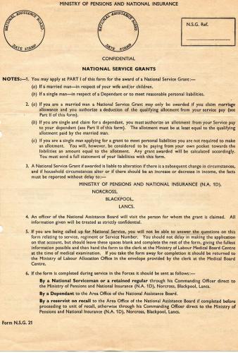 s.Nat Serv Grants a