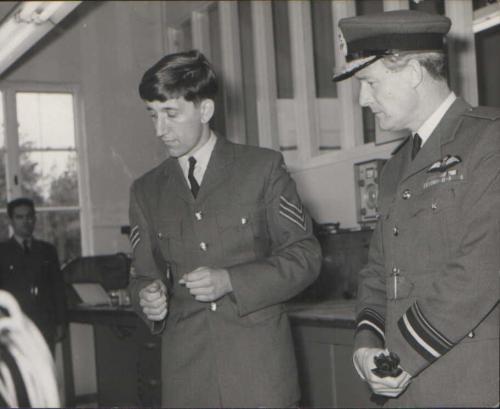 Mike RAF Bruggen 1968