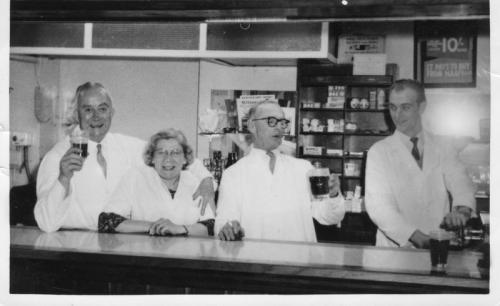 NAAFI staff 1960's