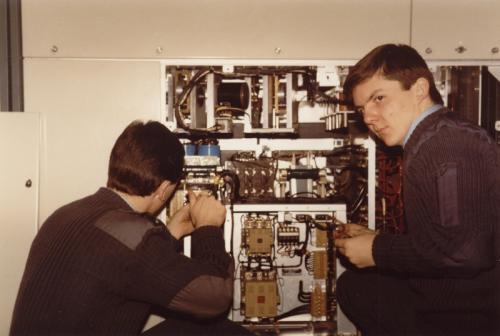 RAF Greatworth Gareth Hanbury and Dave Allen-5