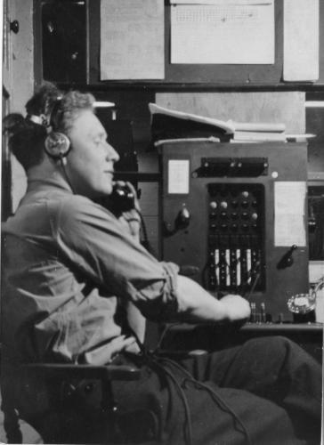 k.Control room multi-tasking 1957