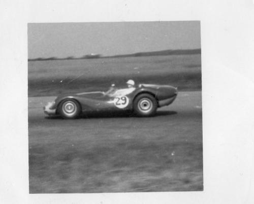 o.Moss on track 1957